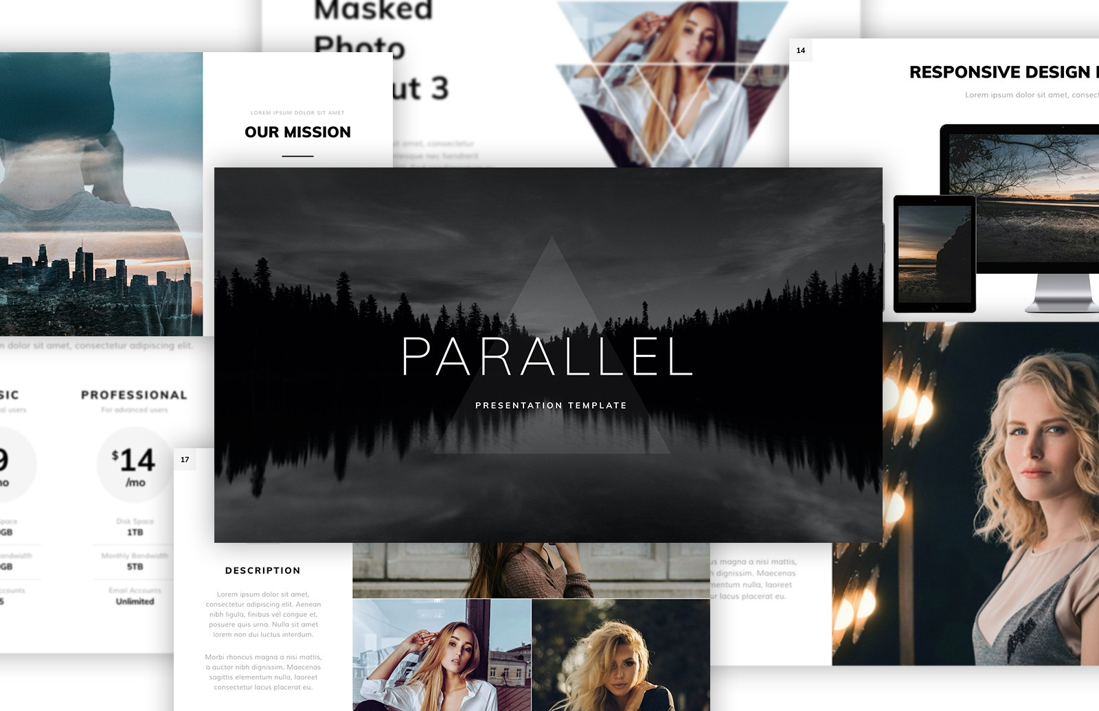 Parallel Presentation Template Preview 1