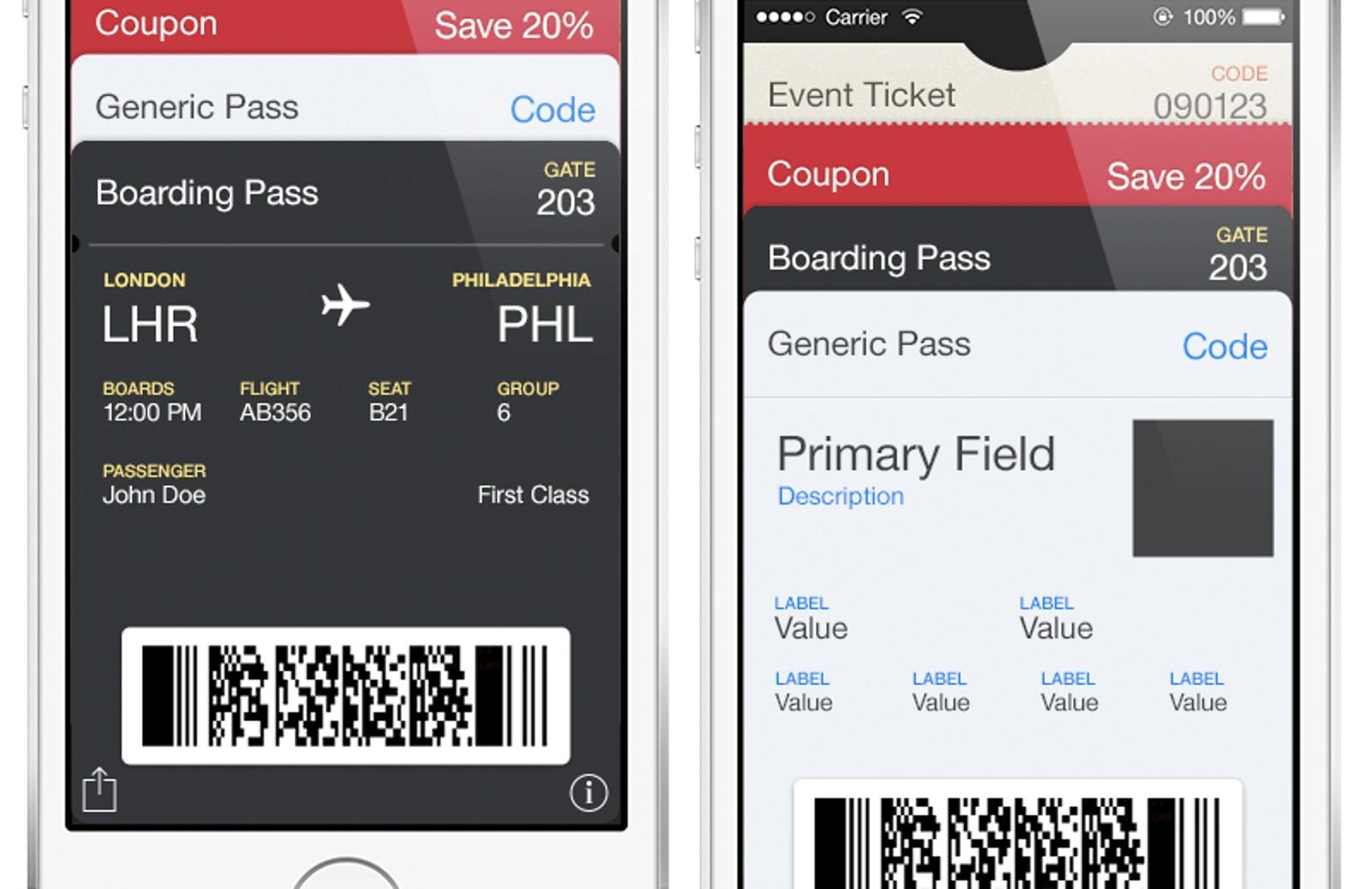 Free Passbook UI Template Pack — Medialoot