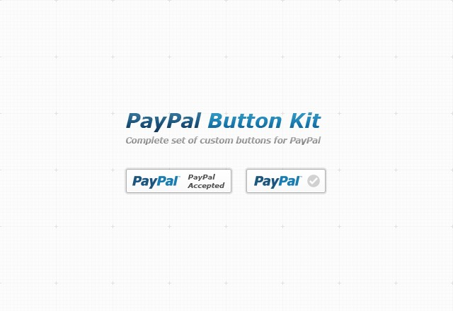 Large Pay Pal  Button  Kit  Preview1