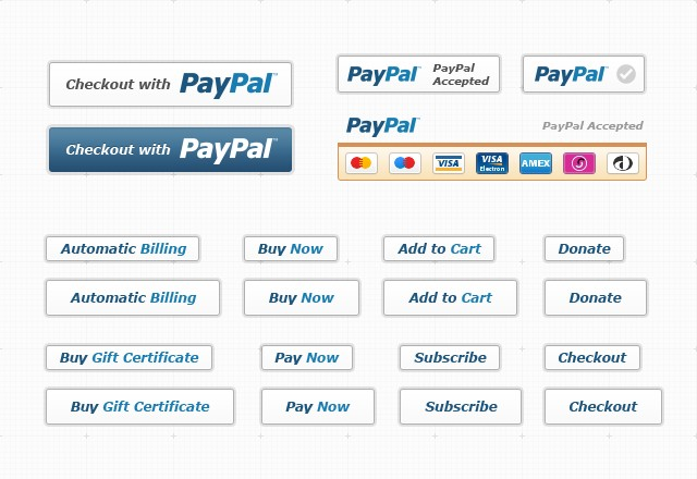 Pay Pal  Button  Kit  Preview2