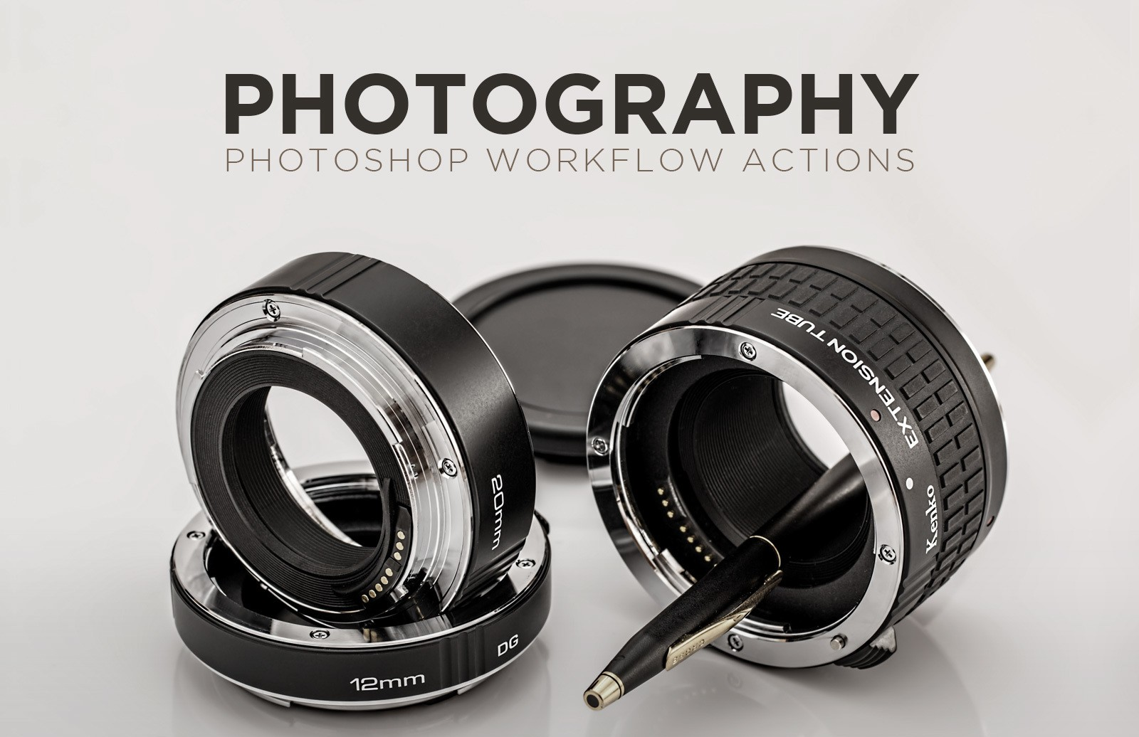 Photography Photoshop Workflow Actions