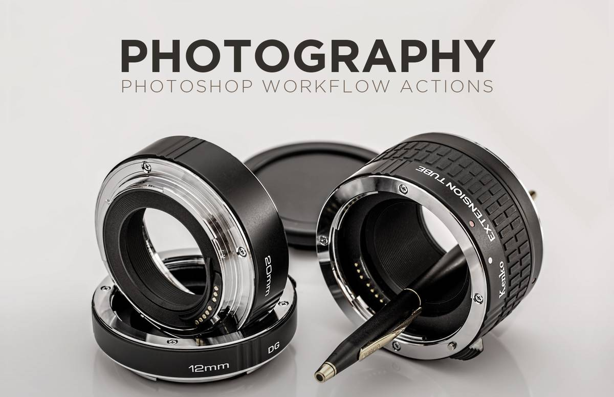 Photography Photoshop Workflow Actions Preview 1