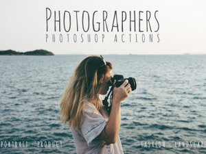 Photoshop Actions for Photographers 1