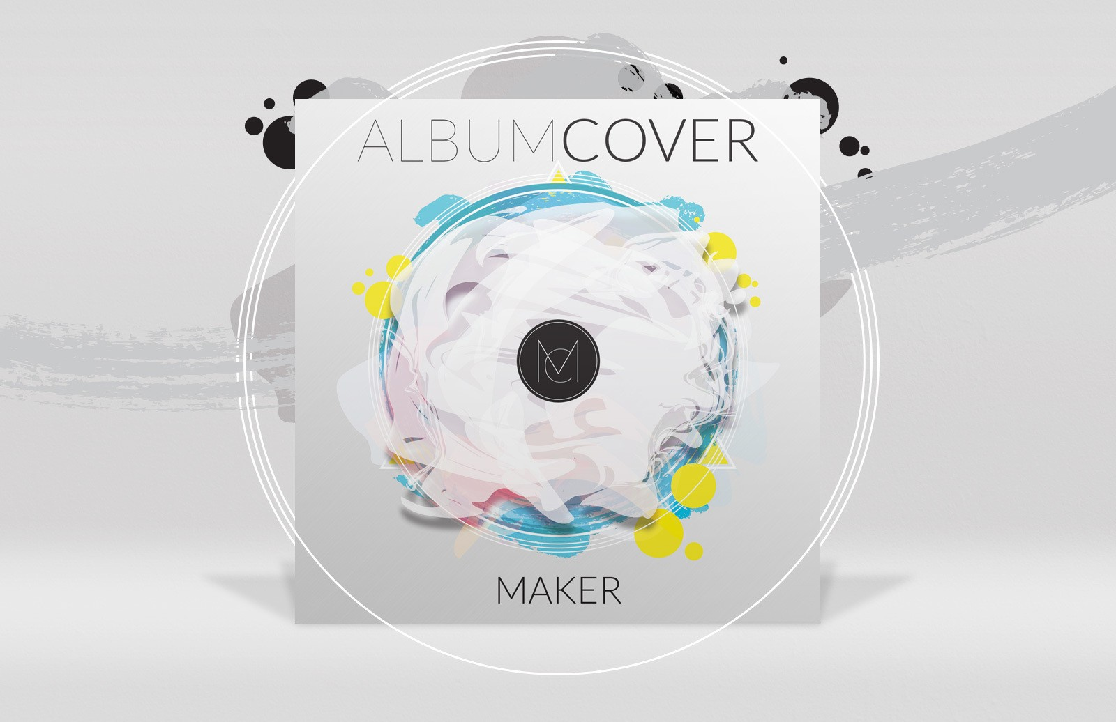 Photoshop Album Cover Maker Preview 1