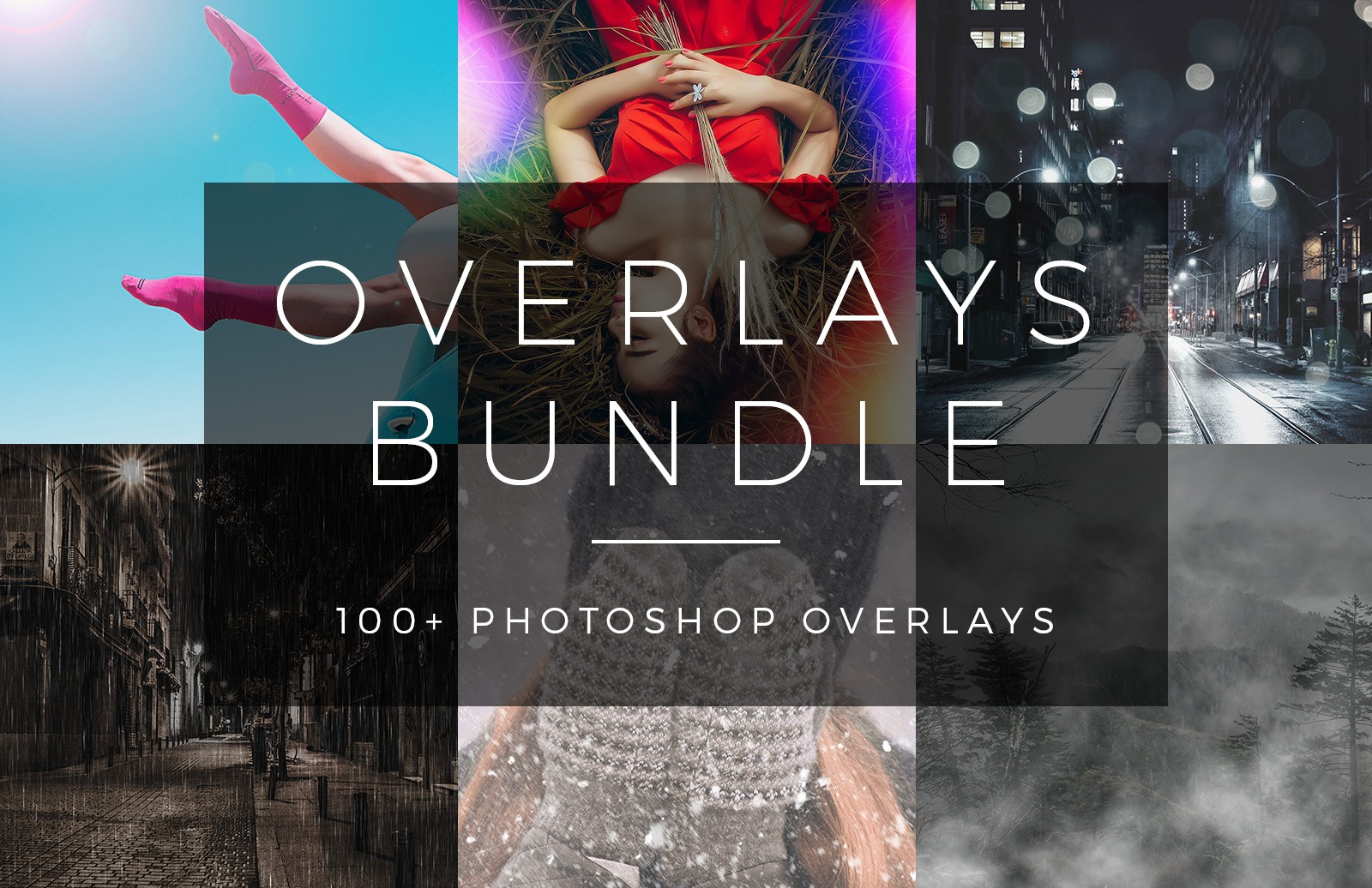 Photoshop Overlays Bundle Preview 1