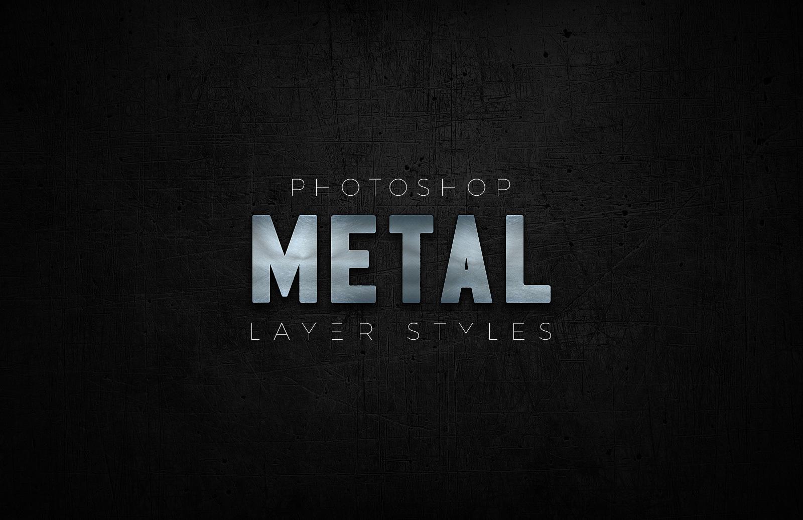 Photoshop Metal Styles 1