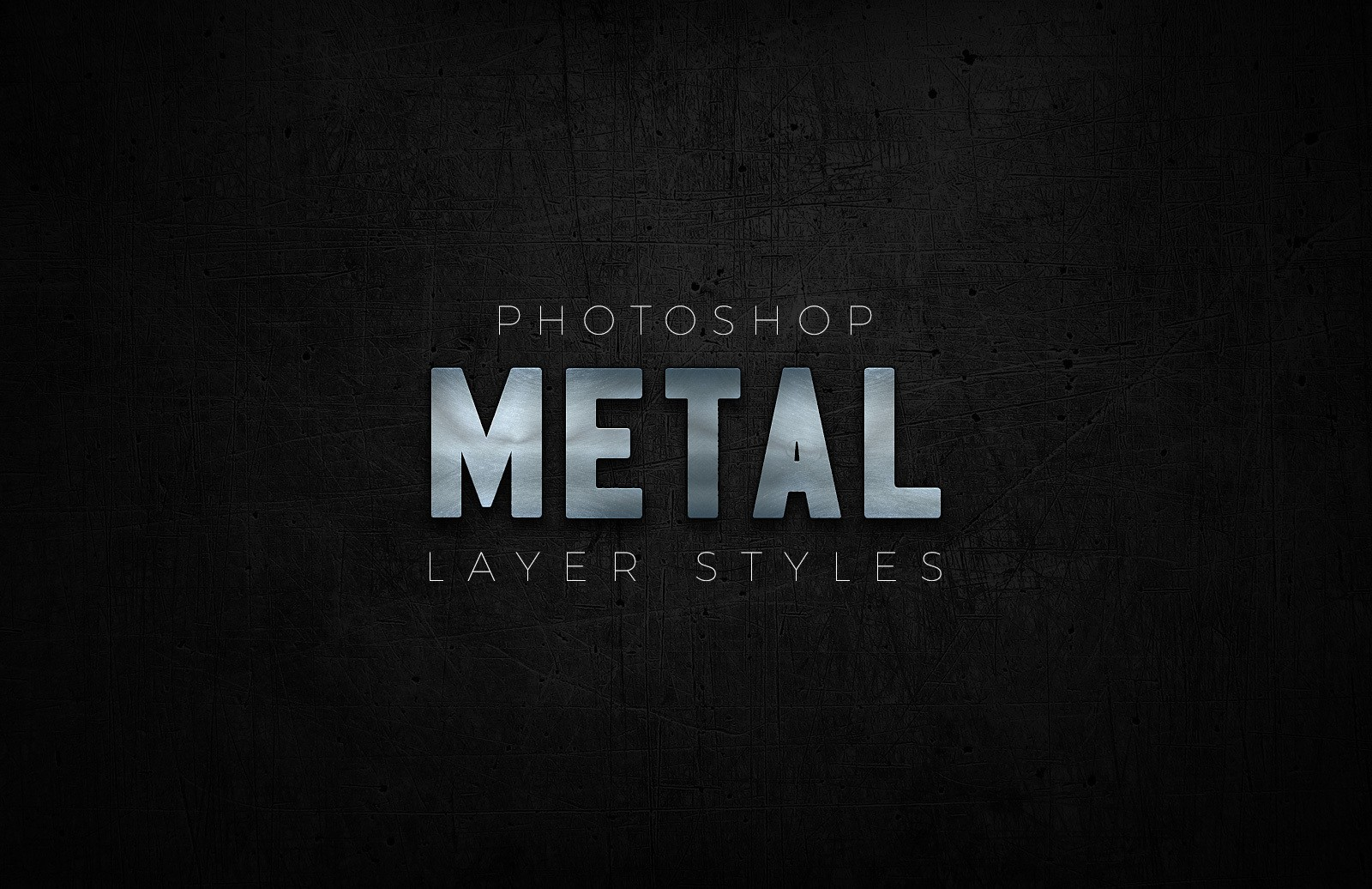 Photoshop Metal Styles Preview 1