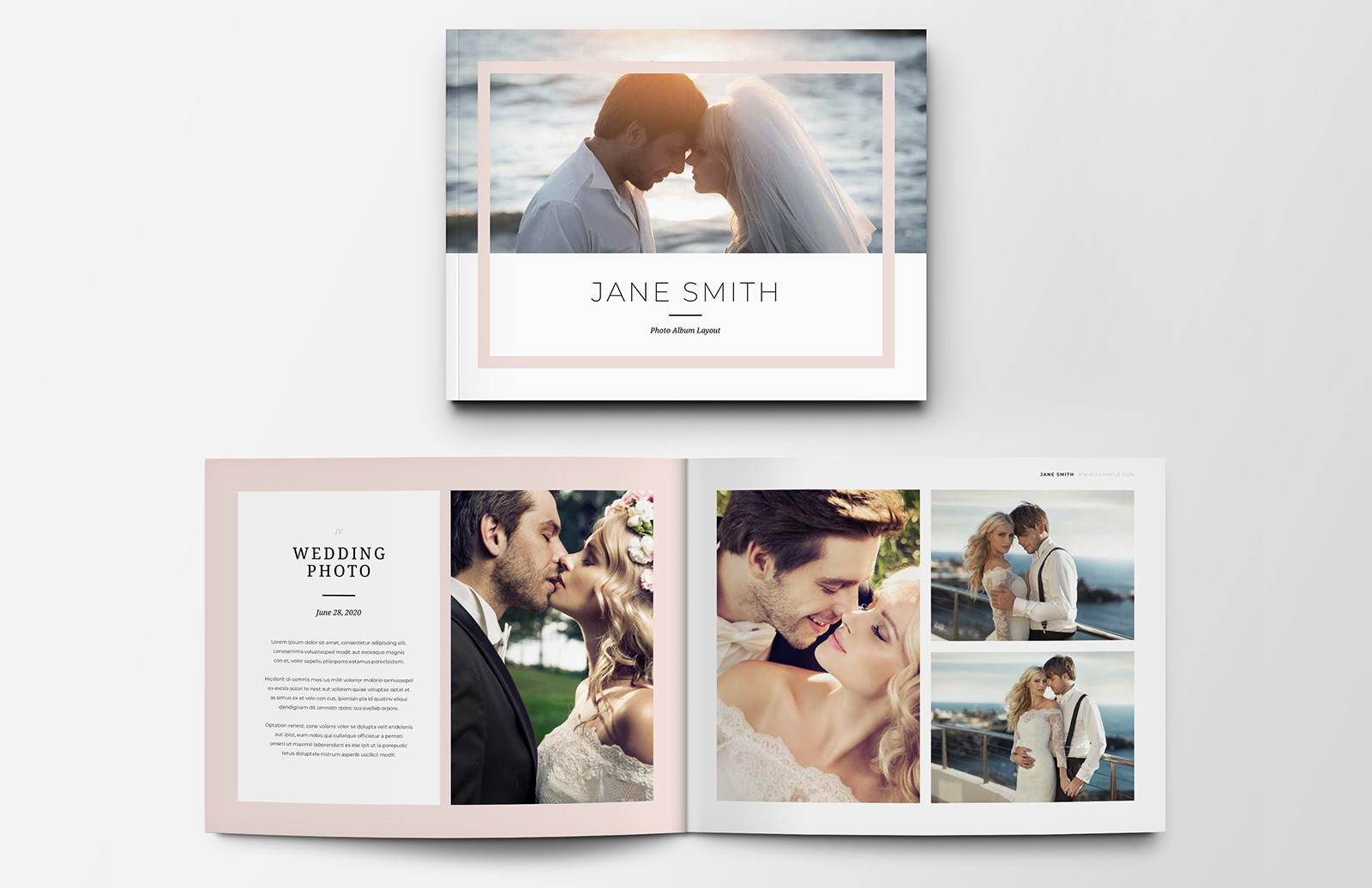 Photo Album Layout Preview 1