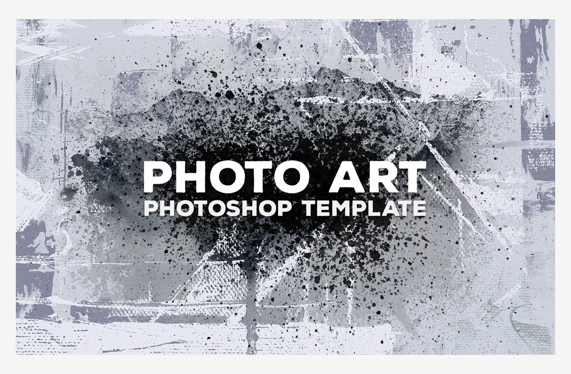 Photo Art Photoshop Template