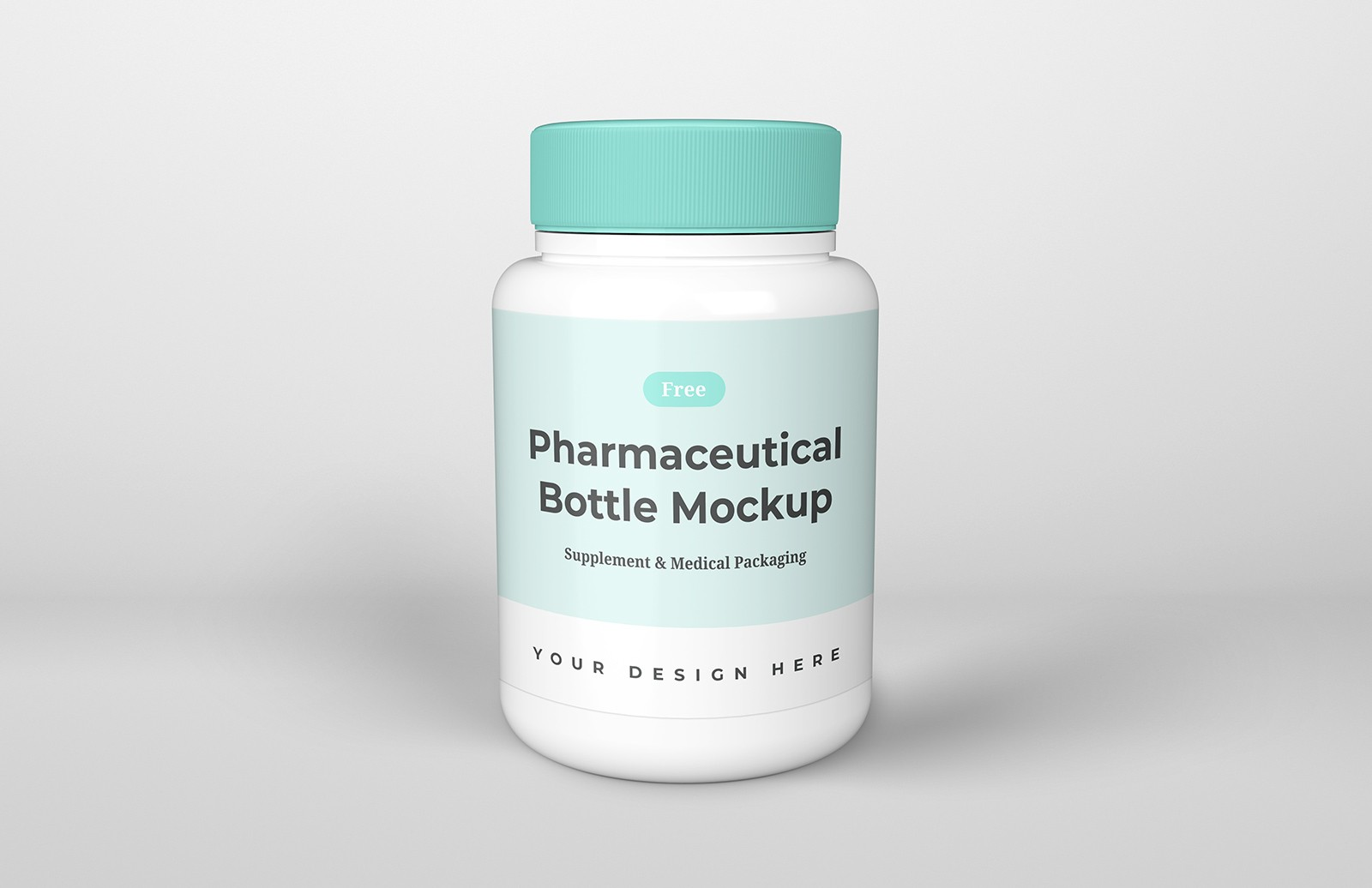 Pharmaceutical Bottle Mockup Preview 1