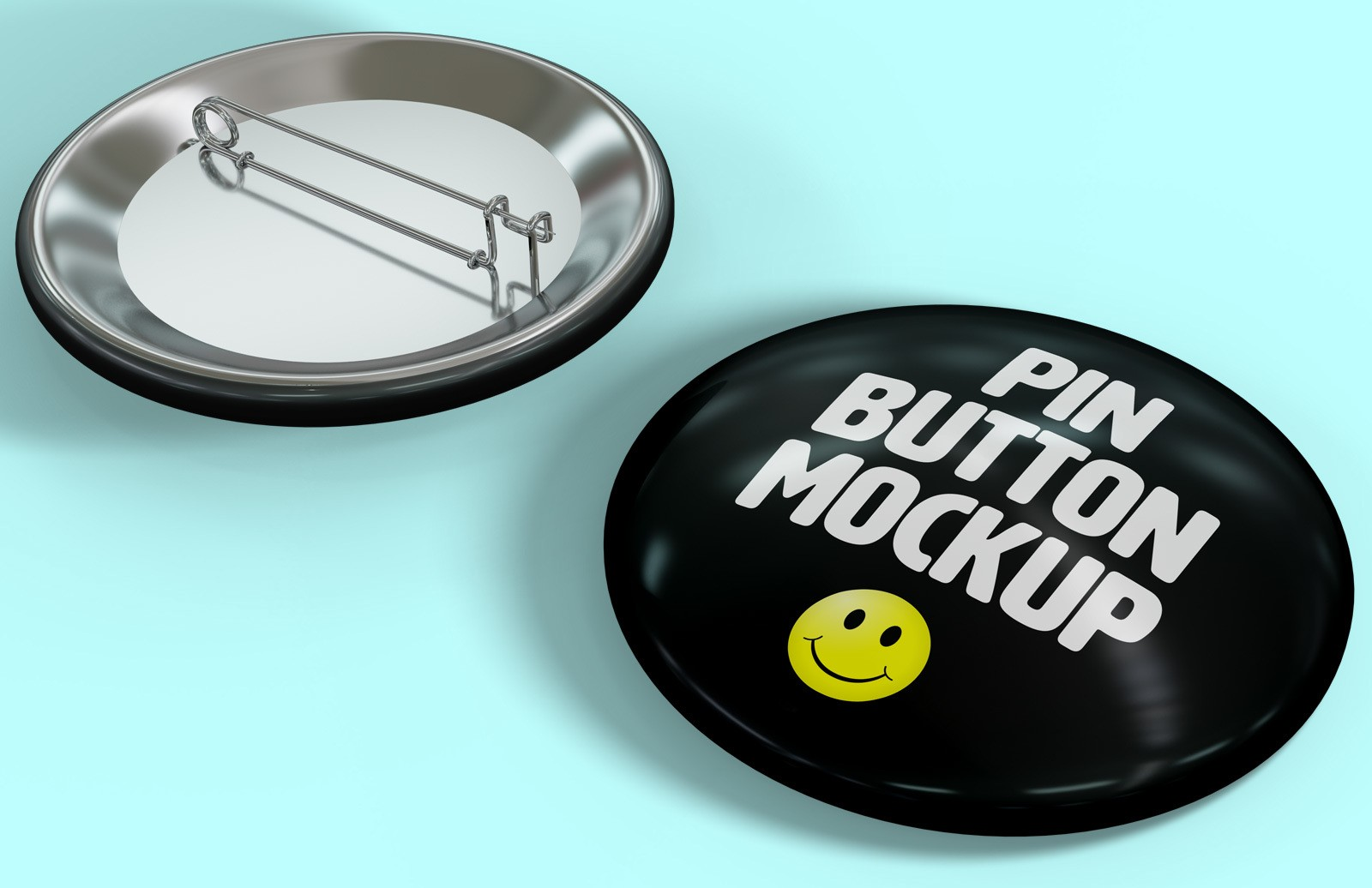 Pin Button Mockup Preview 1