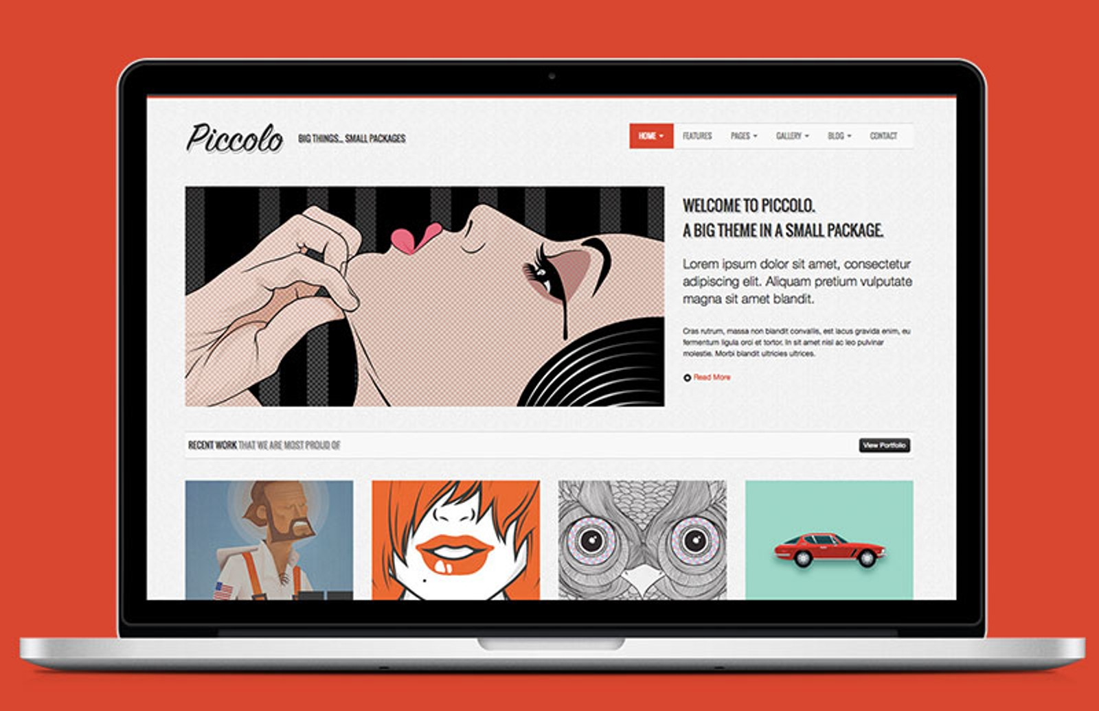 Piccolo Bootstrap Html Template Medialoot