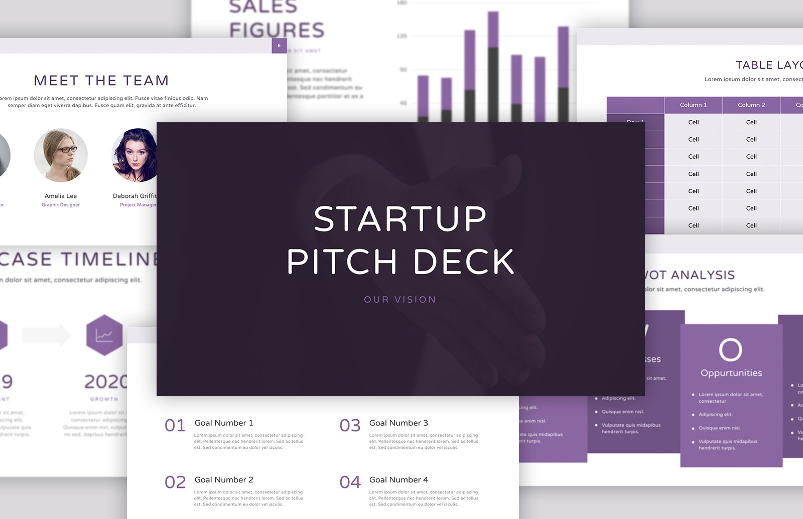 pitch deck presentation template — medialoot, Presentation templates