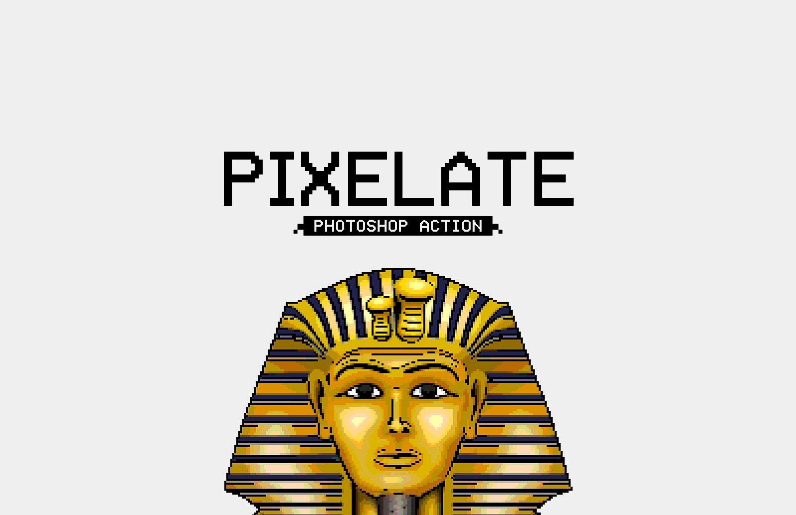 Pixelate Photoshop Action Preview 1