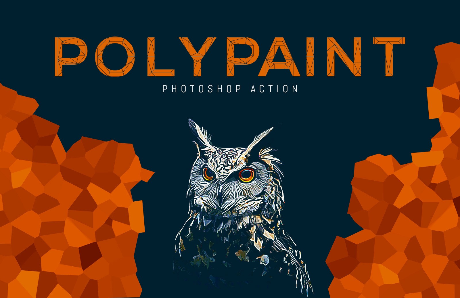 Polypaint Photoshop Action Preview 1