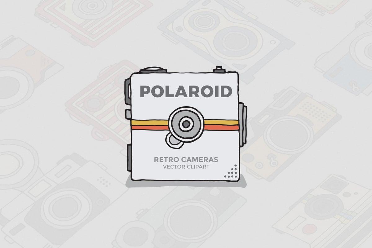 Polaroid Camera Clipart — Medialoot