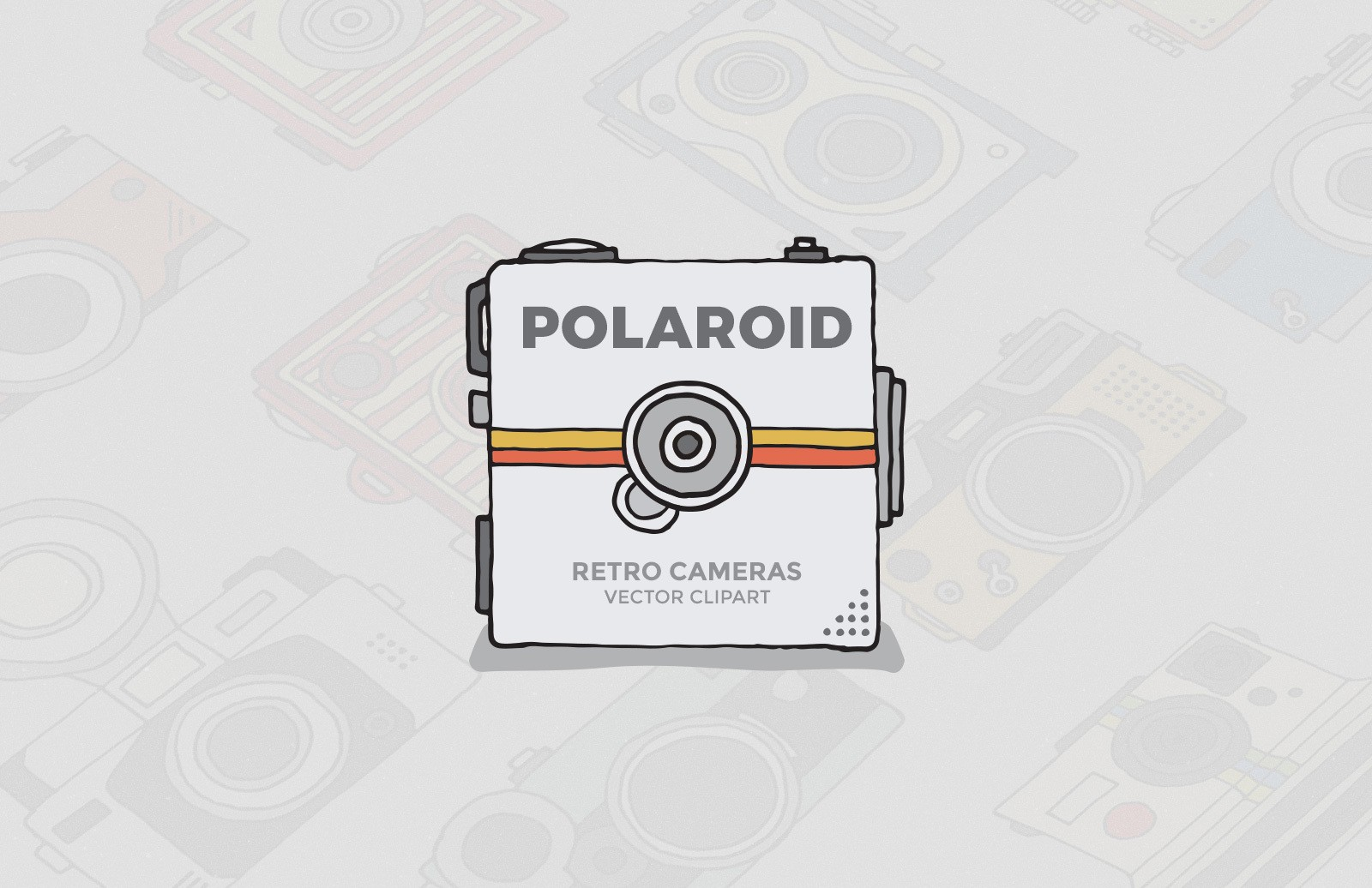 Polaroid Camera Clipart — Medialoot