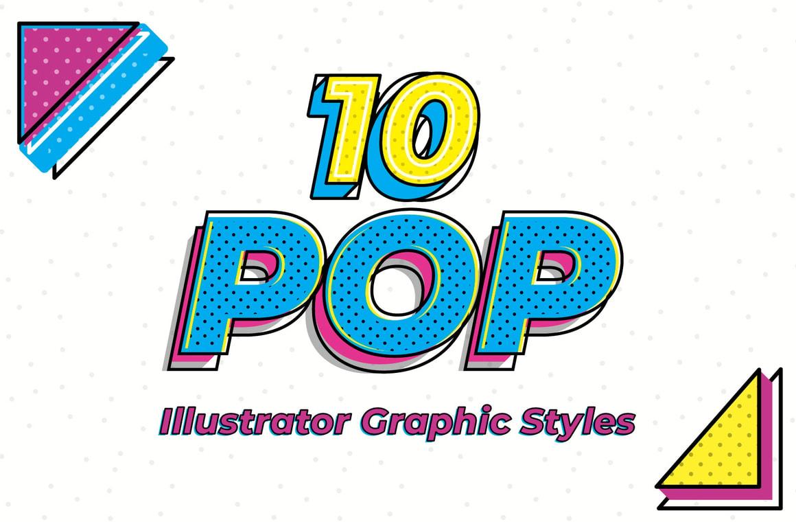 Illustrator Pop Graphic Styles