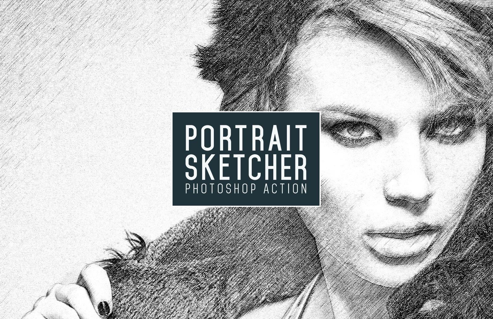 Portrait Sketcher Action
