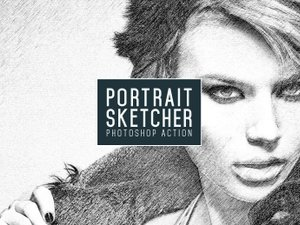 Portrait Sketcher Action 1