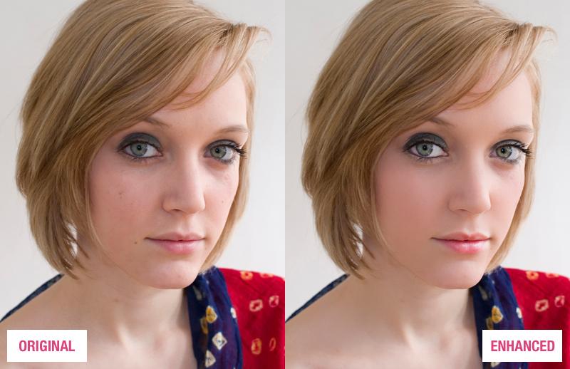 Photoshop Portrait Enhancing Action