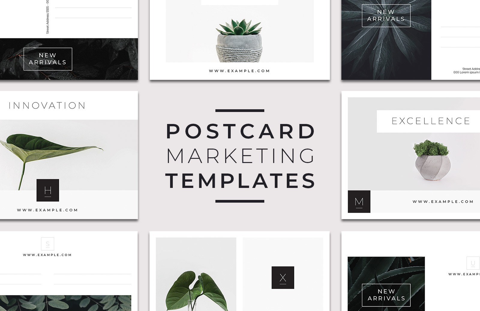 Postcard Marketing Templates Preview 1