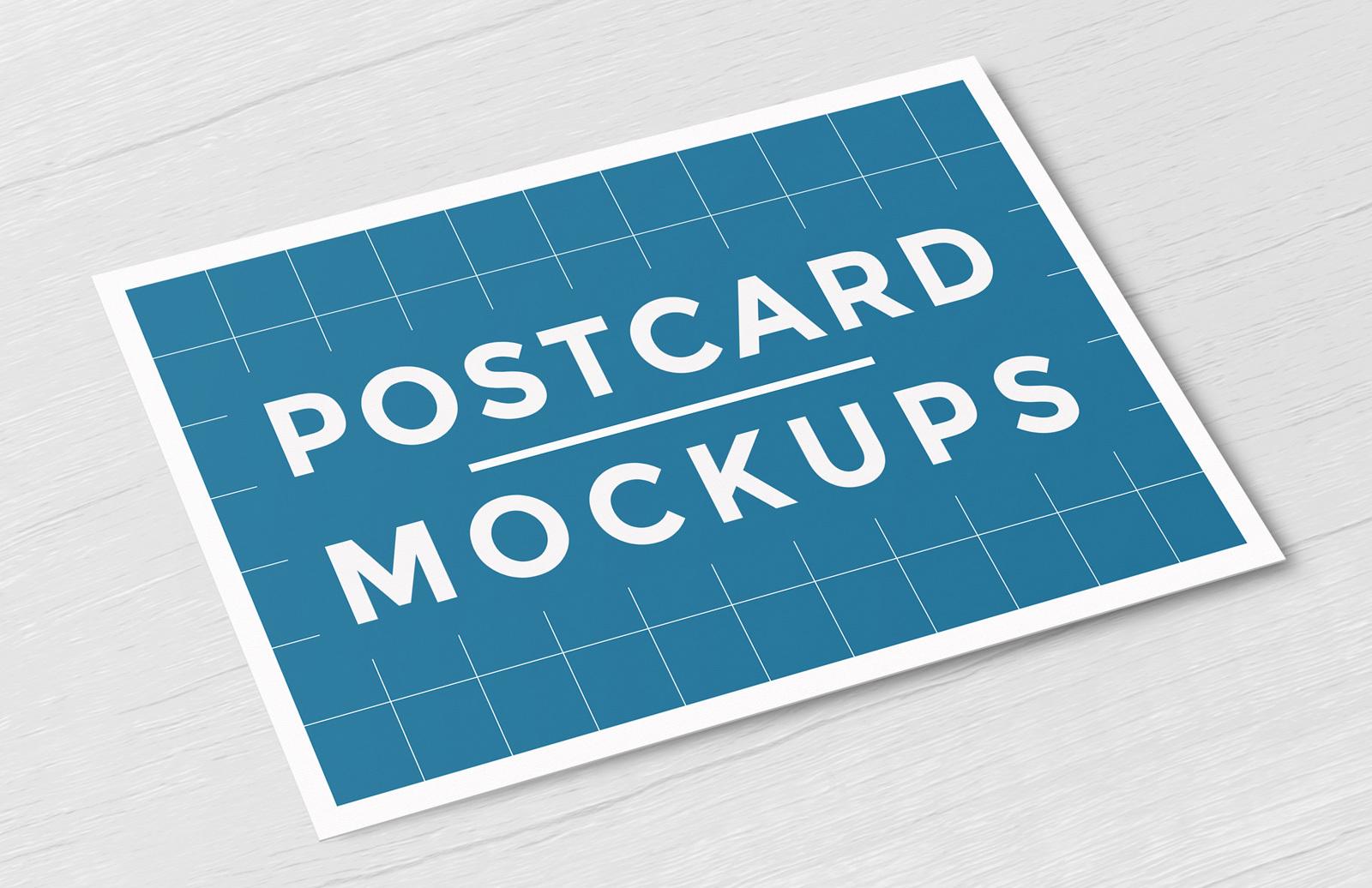 Postcard Mockups Preview 1