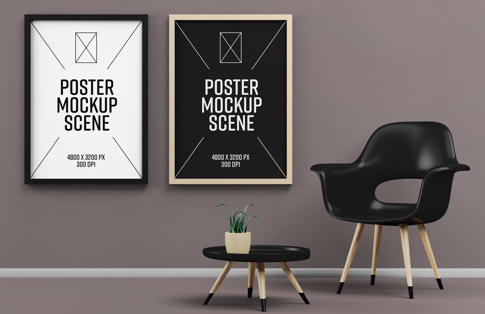 Poster Mockup Scene Preview 1