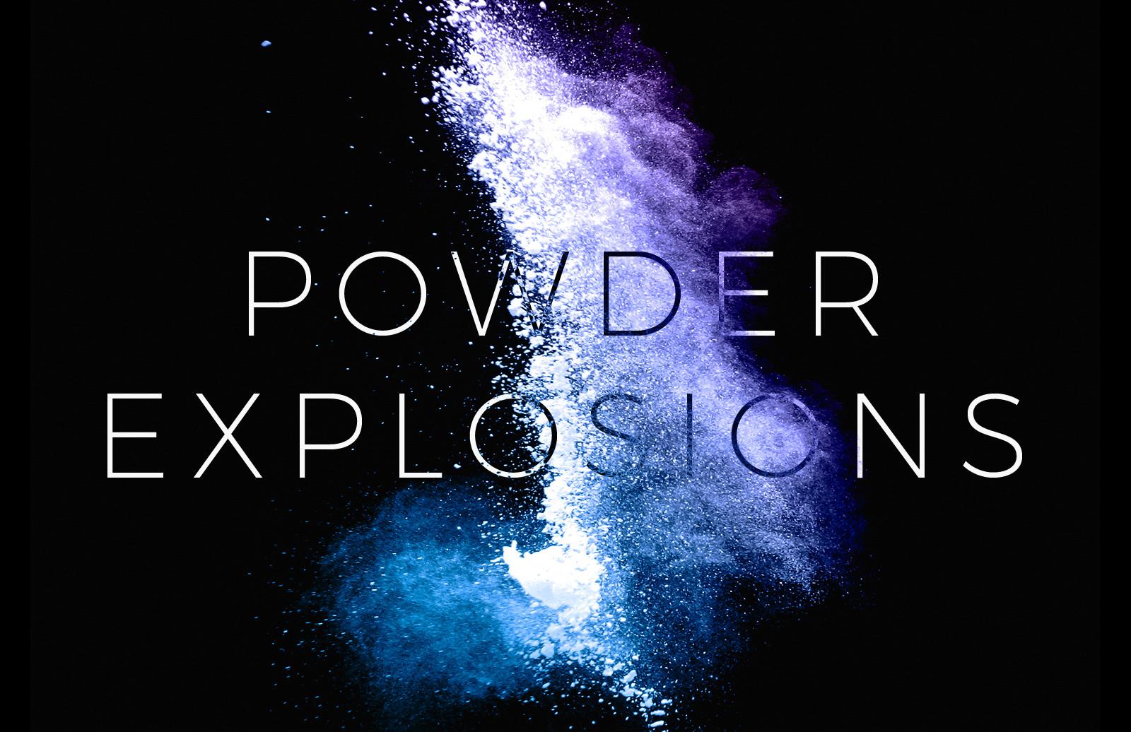 Powder Explosion Brushes