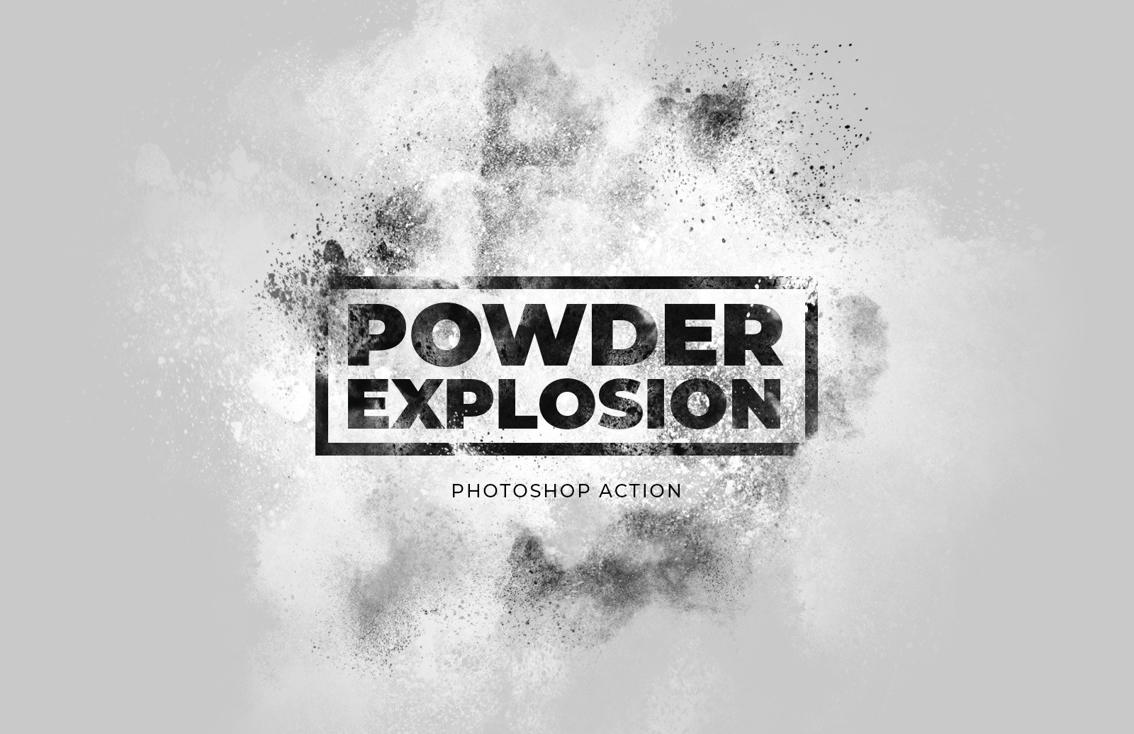Powder Explosion Photoshop Action Preview 1