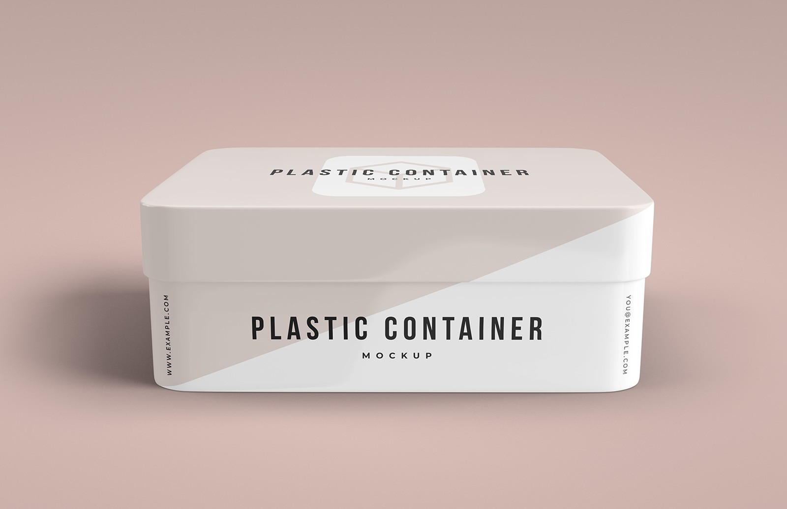Plastic Box Container Mockup Preview 1
