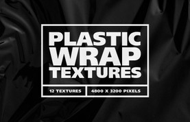Plastic Wrap Overlay Textures