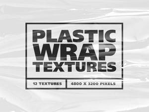 Plastic Wrap Overlay Textures 2
