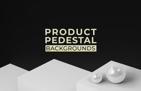 Product Pedestal Backgrounds
