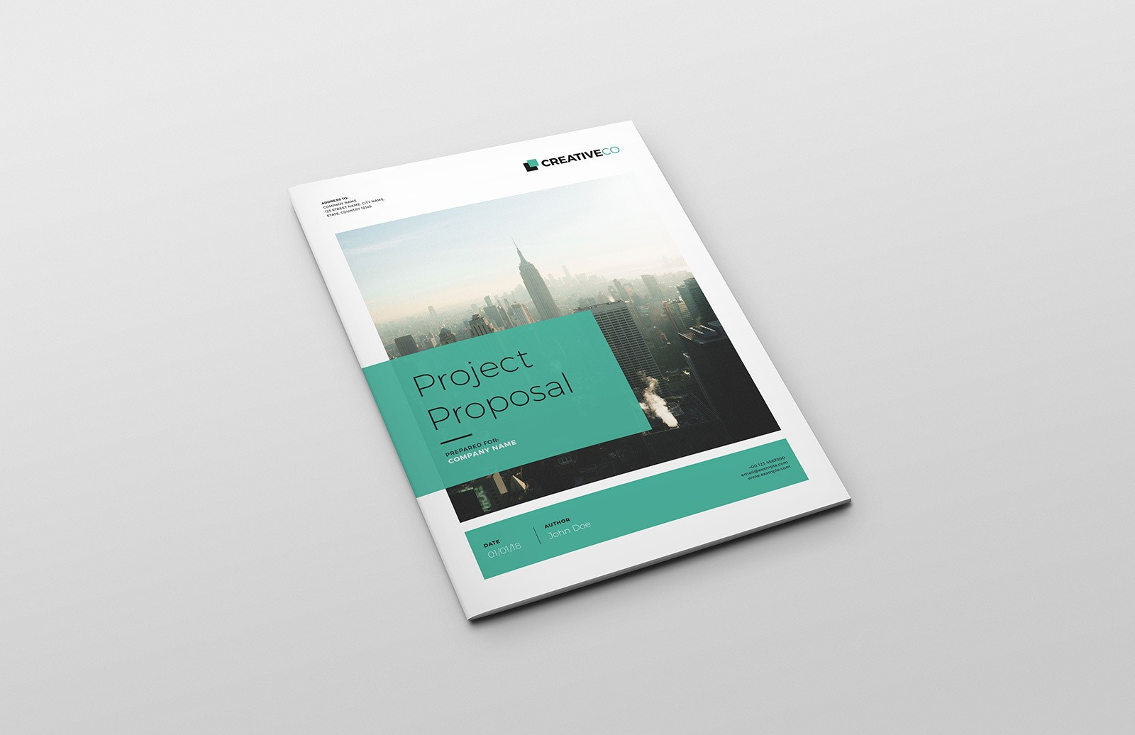 Project Proposal Template for InDesign