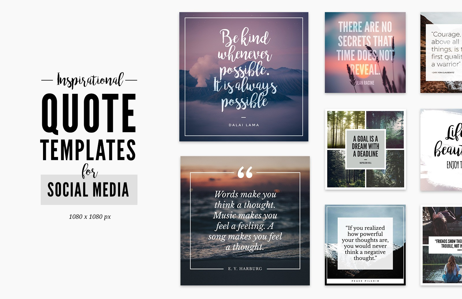 Quote Templates For Social Media Preview 1