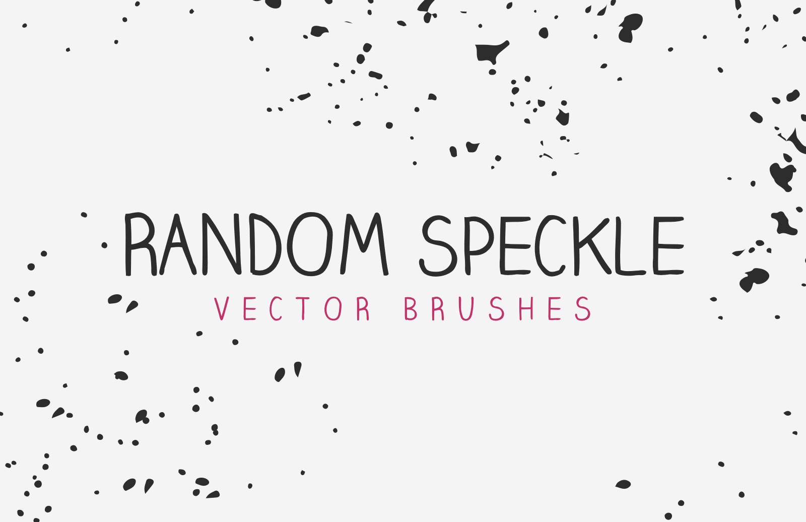 Vector Random Speckle Brushes