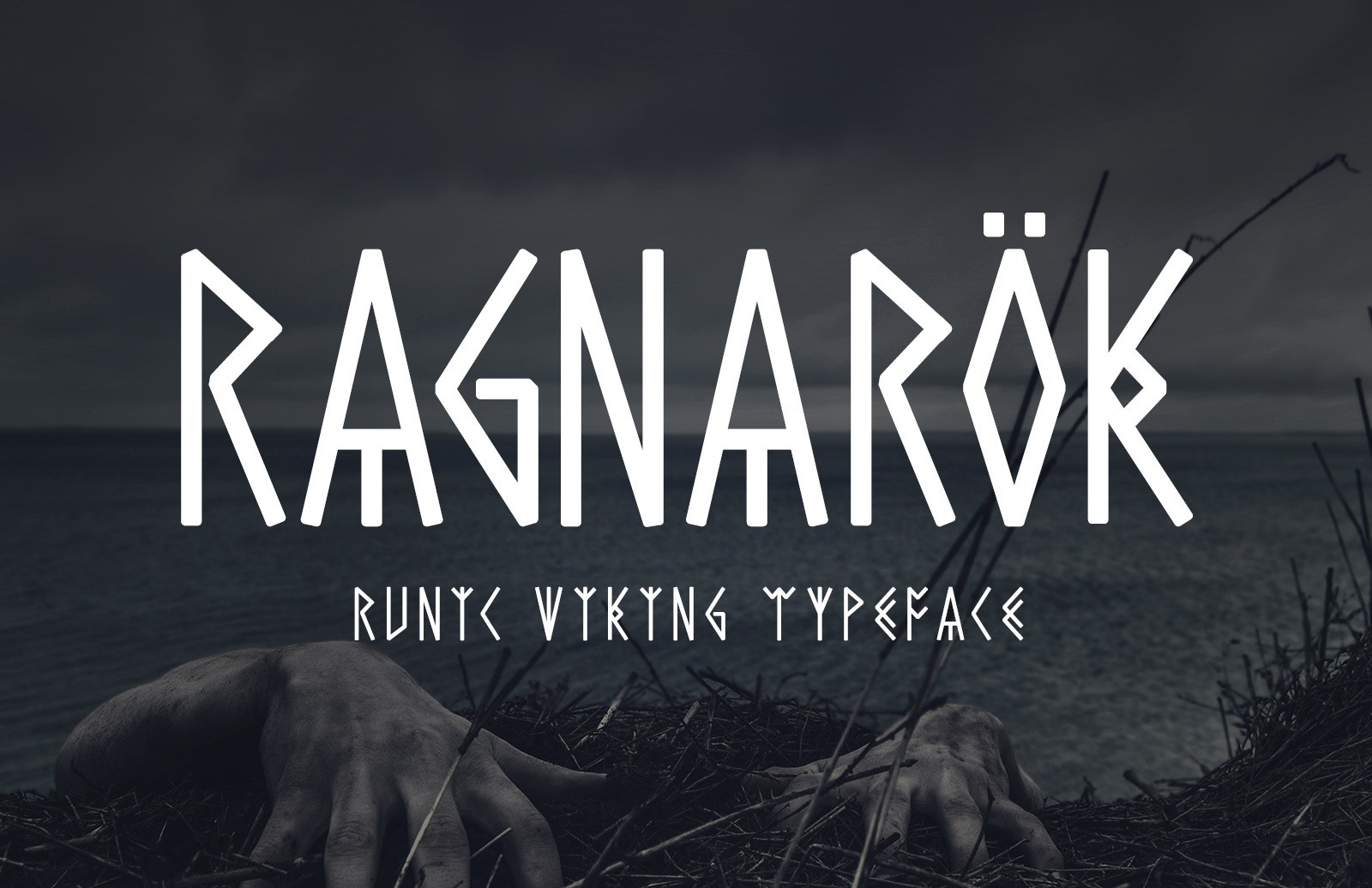Ragnarok Runic Font Preview 1