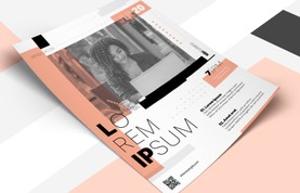 Remote Event Flyer Template