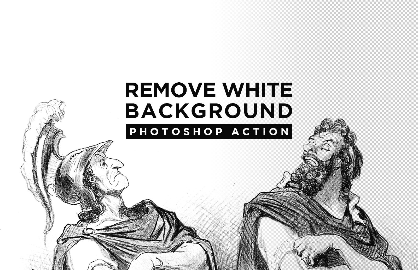 Remove White Background Photoshop Action