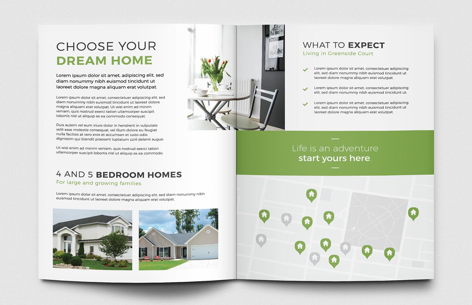 Real Estate Brochure Template 2