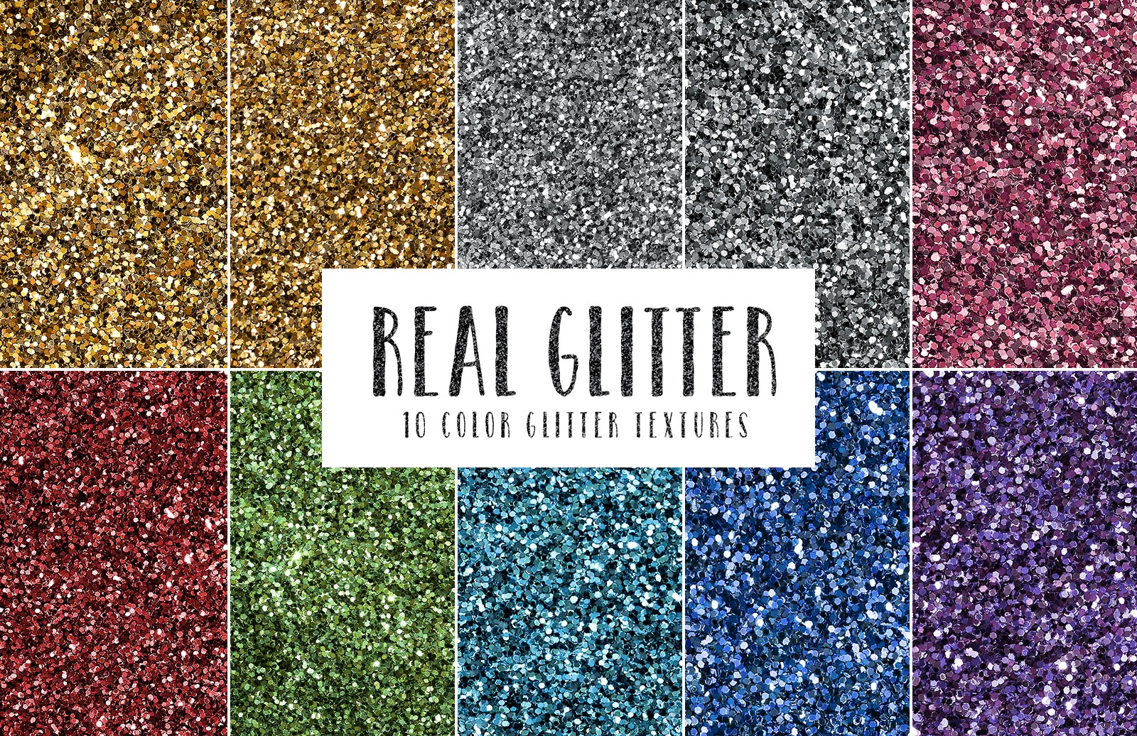 Large Real  Glitter  Textures  Preview 1
