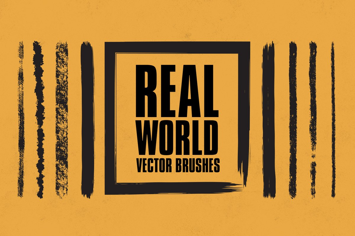 Real World Vector Brushes     Medialoot