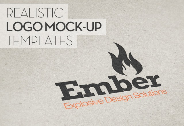 Large Realistic  Logo  Mock  Ups  Preview1