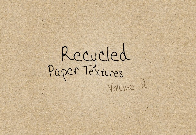 Recycled Paper Textures - Vol 2