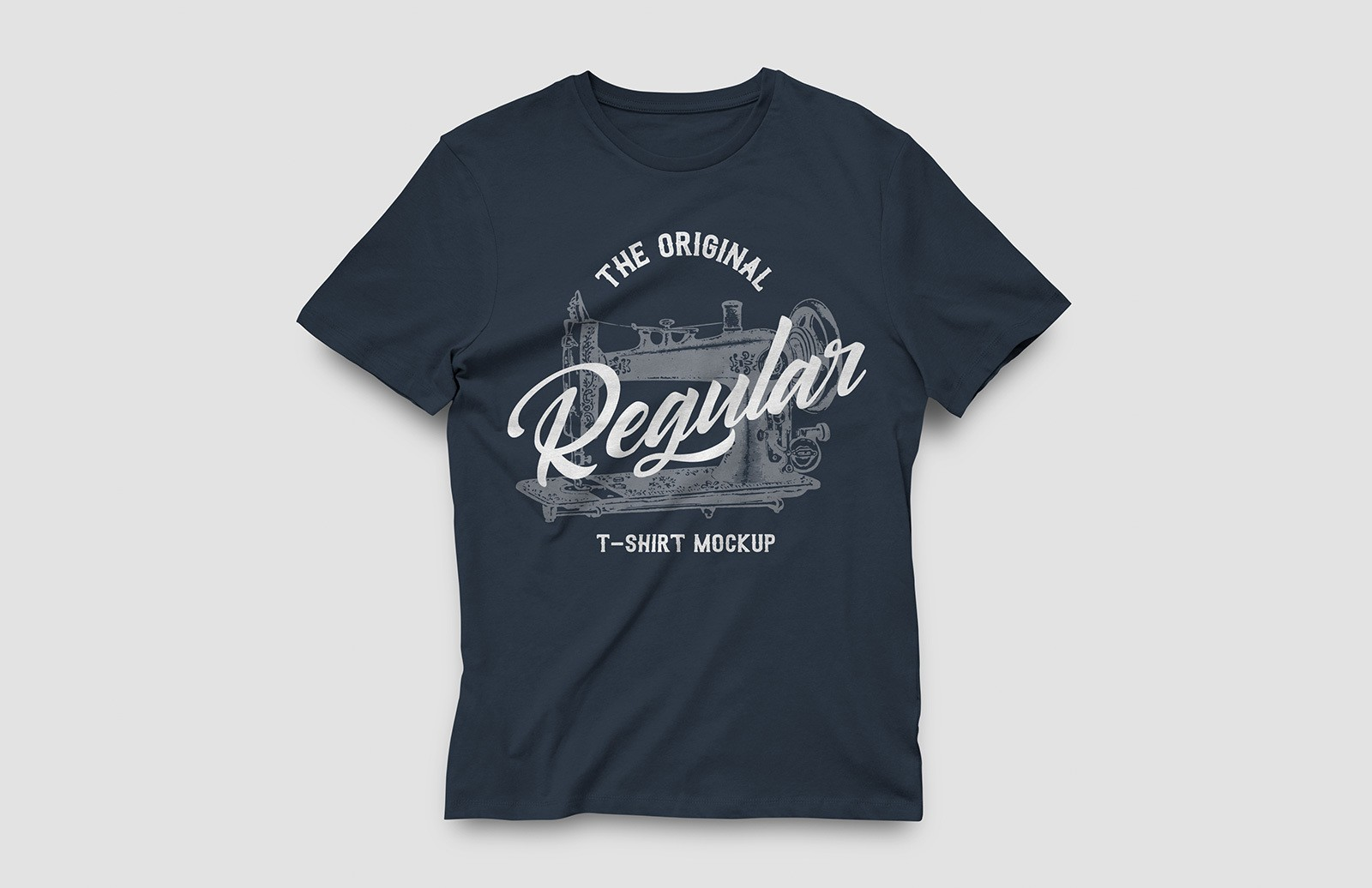Regular T-Shirt Mockup