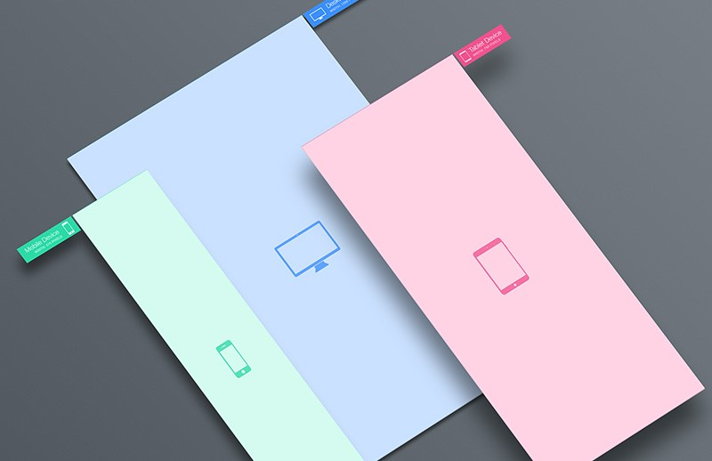 Responsive Screen Perspective Mockup