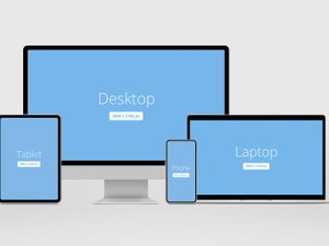 Responsive Showcase Mockup Pack 1