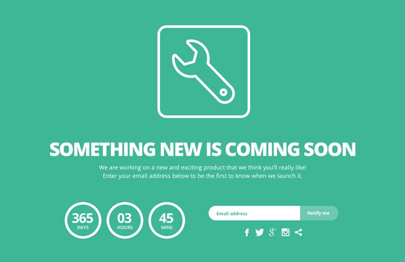 Responsive  Coming  Soon  Template 800X518 1