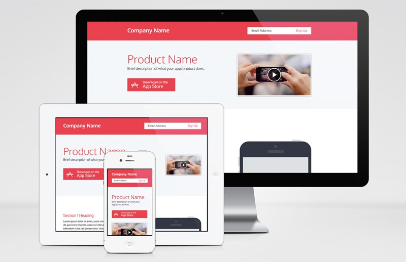 Responsive  Single  Page  Product  Template 800X518 1